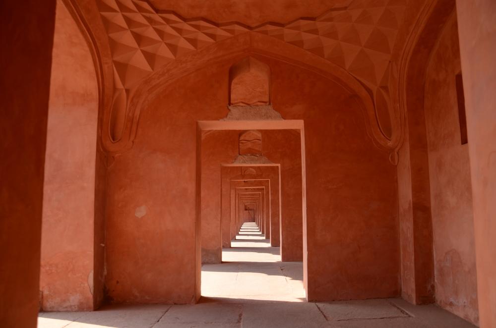 Sandstone aisle
