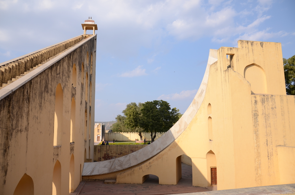 Jantar Mantar's giant sundial