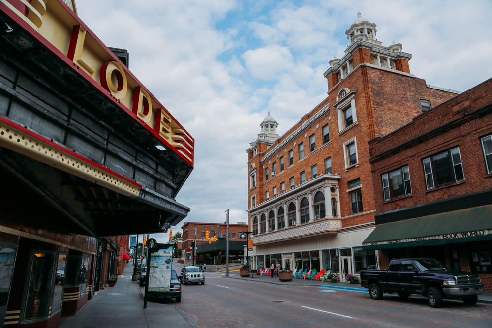 A view of downtown Houghton, MI in Michigan's Upper Peninsula. Ryan Garza / Pop Mod Photo
