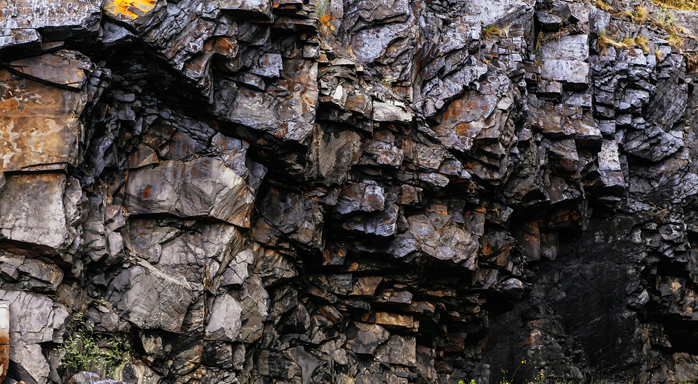 Rock formations along U.S. Route 41 are seen in the Upper Peninsula of Michigan. Ryan Garza / Pop Mod Photo