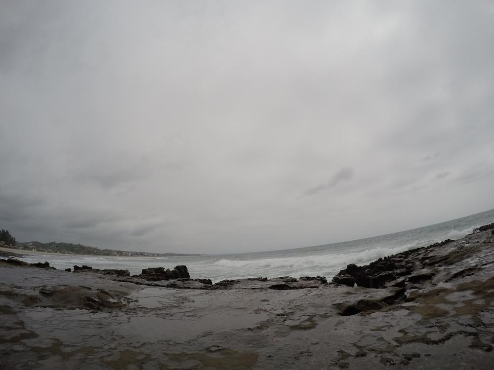 Montanita Ecuador The Point GoPro Beach Natural