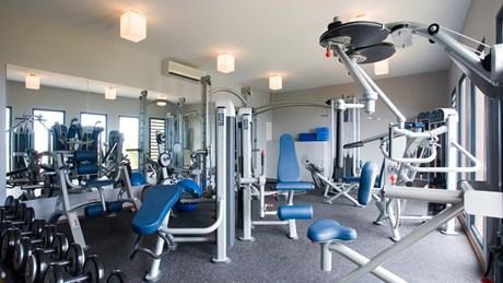 St. Barthelemy Eden Rock Villa Jade Gym
