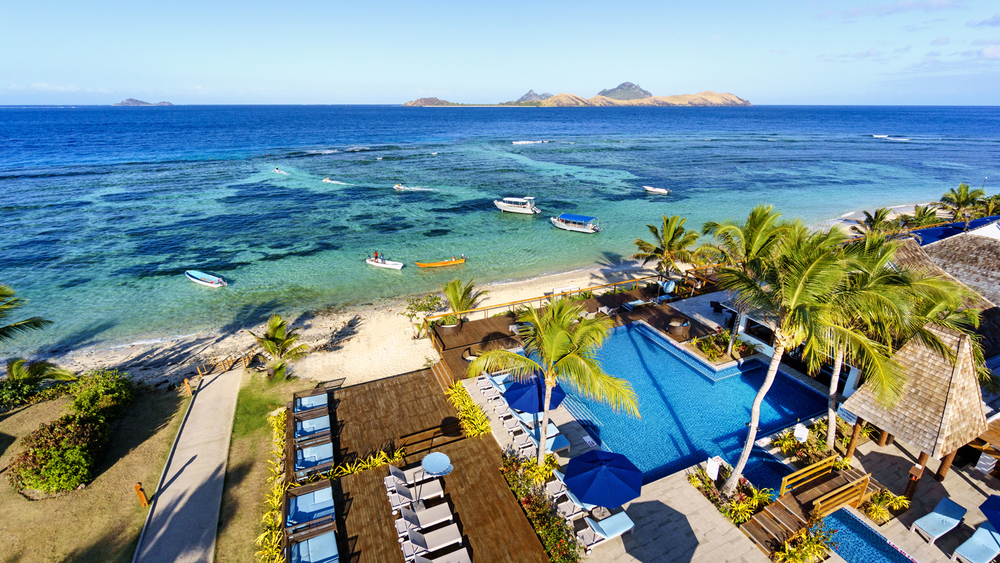 Image via  Sheraton Resort & Spa, Tokoriki Island, Fiji