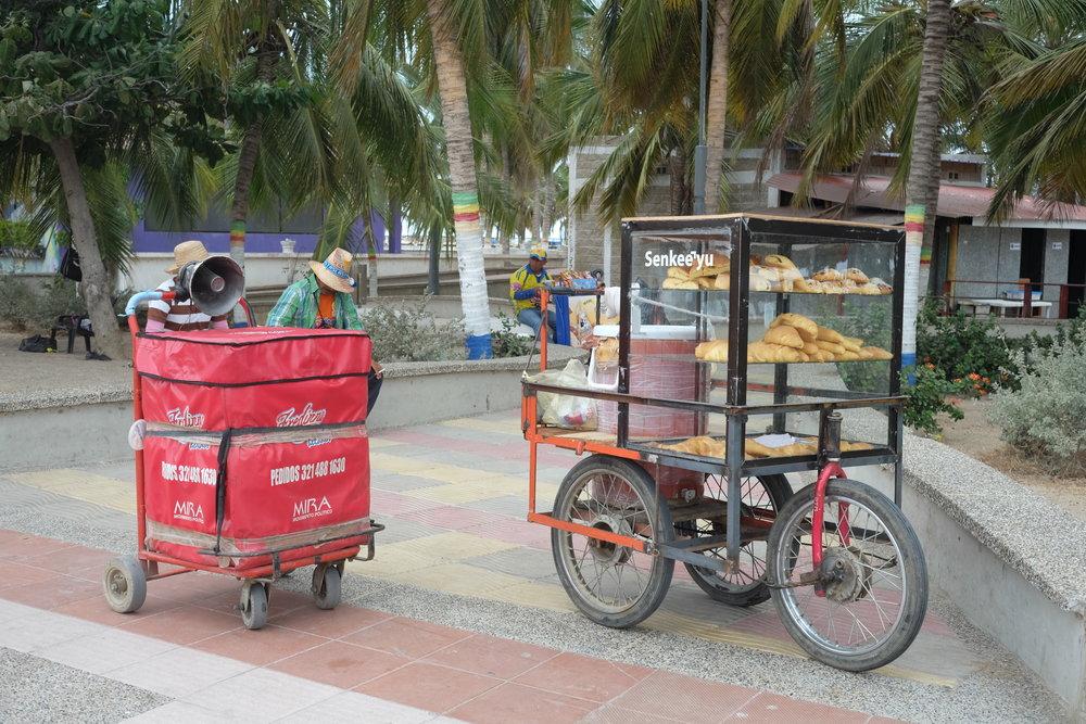 Recommended restaurants  - Horatio Barbato (Usaquen, Bogota)Lulo (Santa Marta)Caribbean Wings (Santa Marta)Asadero Donde Octavio (Santa Marta)