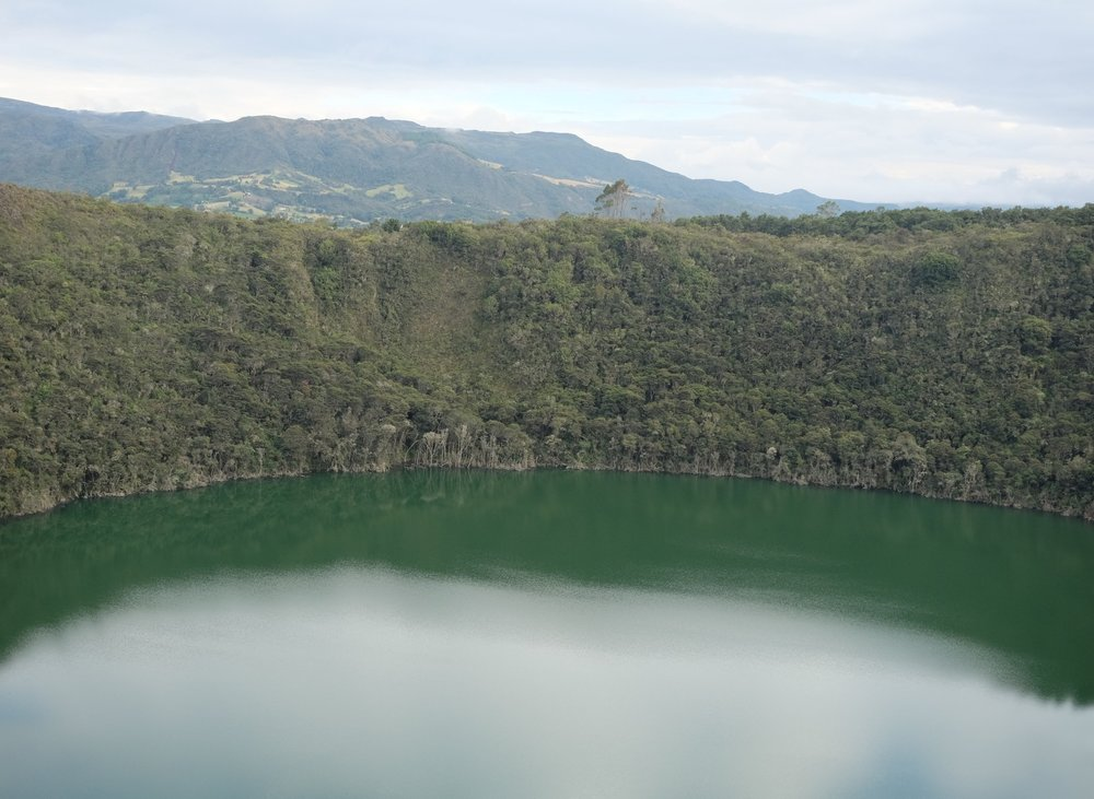 Guatavita - The site of the legend of El Dorado. It's even more spectacular in person.