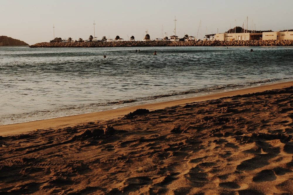 Santa Marta Beaches - Check out Santa Marta's beaches. They continue after the marina area!