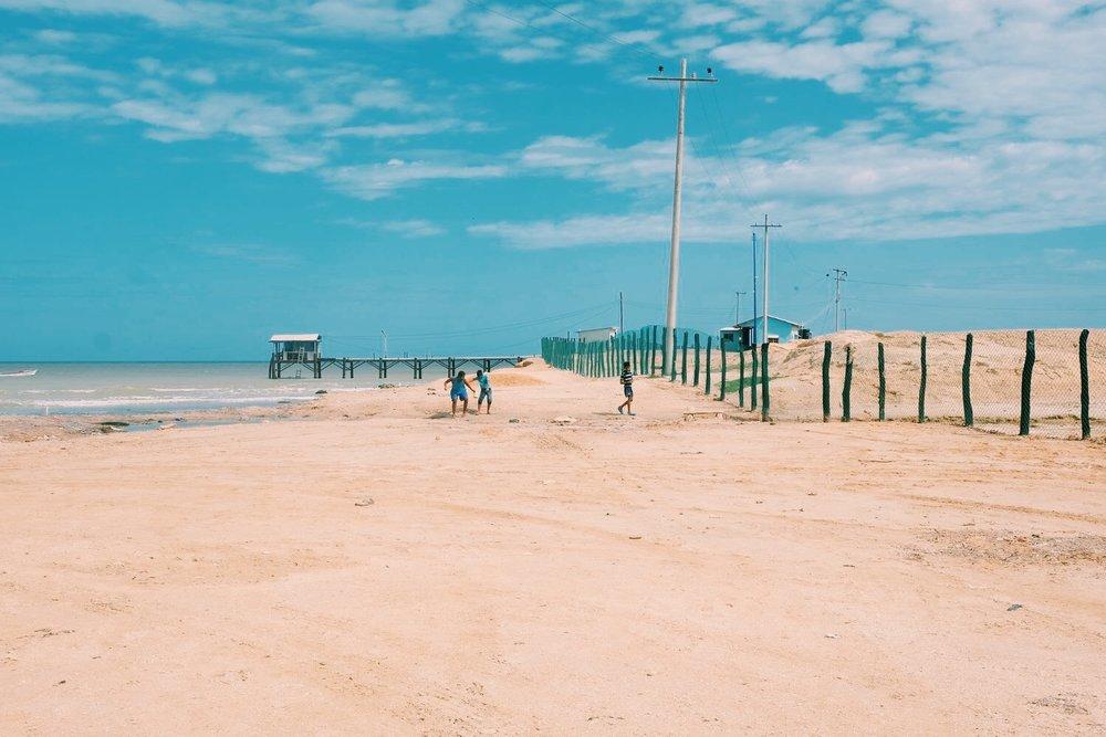 Manaure Salt Flats -