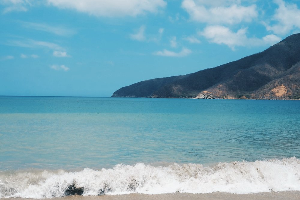 Bahia Concha - Spend a day at Bahia Concha. This hidden beach is about 12-minute taxi ride away from Santa Marta. Note the last mile or two is very rocky. Once you get to the entrance, you can either walk or drive in. There are also motorcycles available to give you a ride if you are up for it.