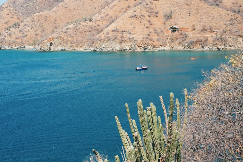 Playa Grande - Beach day at Playa Grande: Take a taxi to Taganga and boat ride to this nicer beach. There is a somewhat steep trail to get there by foot and takes about 20 minutes.