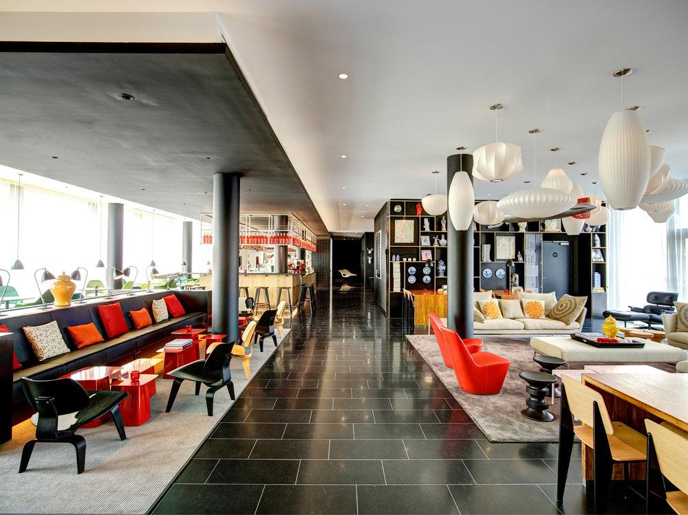 Citizen M - Budget-friendly design hotel