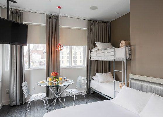 NU Hotel - Boutique hotel with a distinct Brooklyn vibe