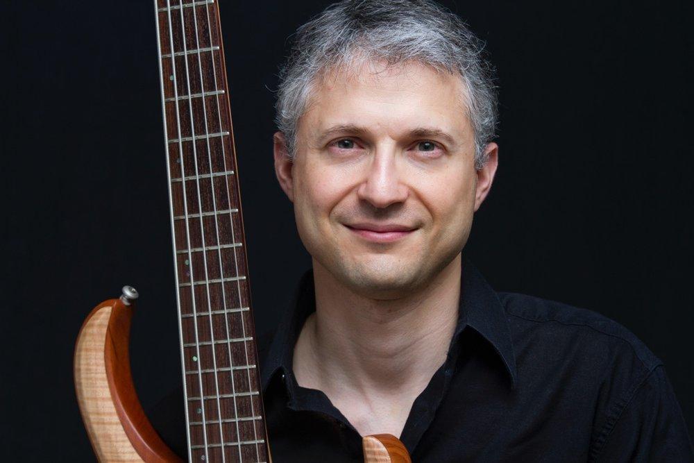 Jon Rothstein - songwriter, singer, bassist for The Hillary Step