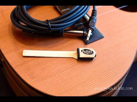 Kremona UK-1 Piezo Pickup for Ukulele, slides under Ukulele Strings
