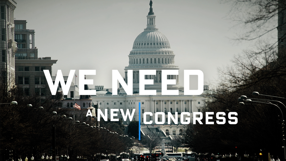 """""""WE NEED A NEW CONGRESS"""" - INDEPENDENCE USA PAC"""