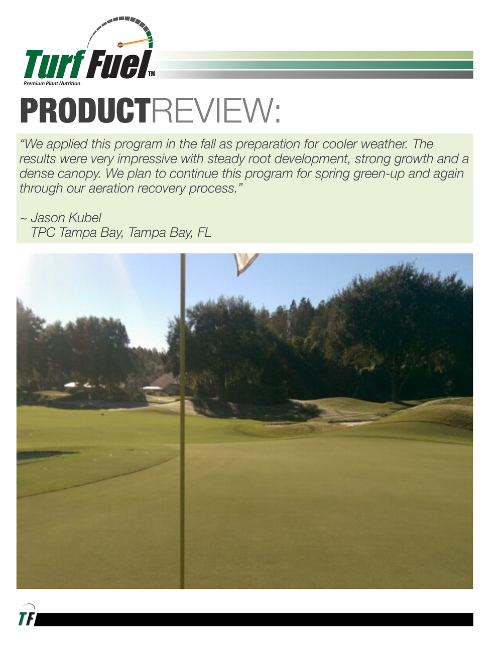 PRODUCT REVIEW TPC Tampa Bay