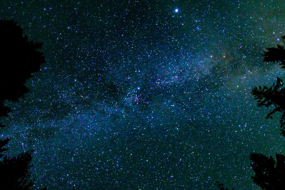 AUGUST - Something familiar. The night sky. This was taken about 20 feet from the front door of my girlfriends, parents, cabin in the BC interior. Using a camera to see into the universe is always my favourite.