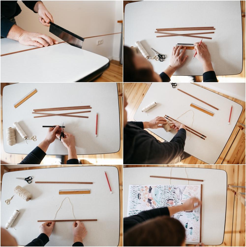 DIY frame auf herzundblut.com
