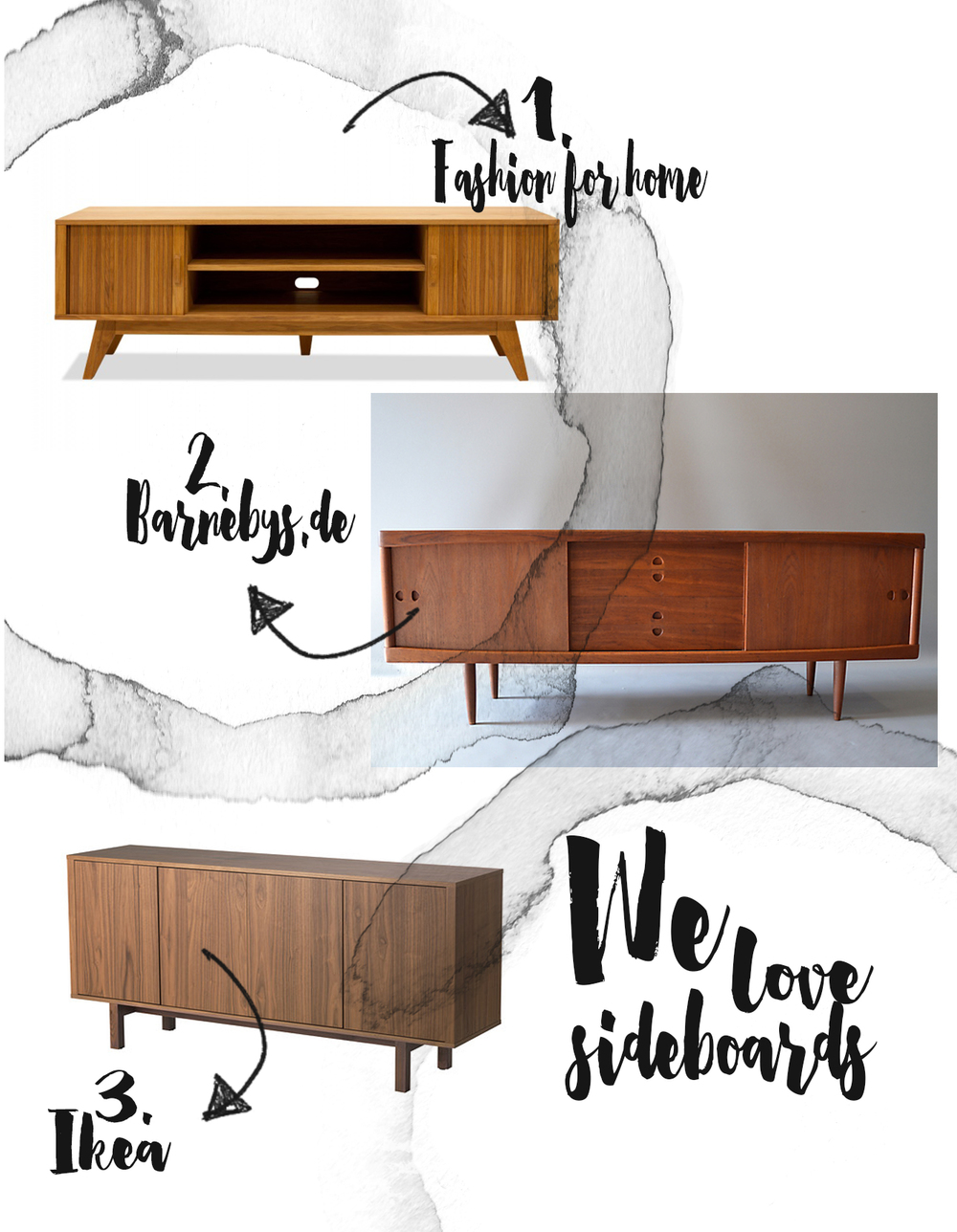 WE LOVE SIDEBOARDS