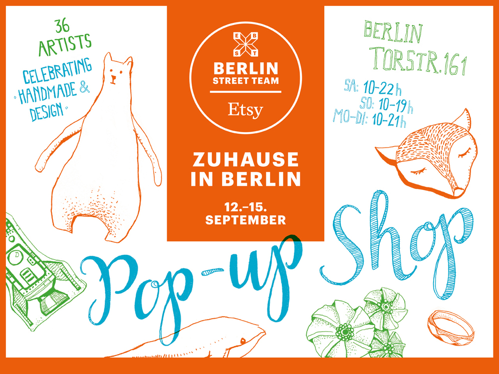 Flyer Etsy Pop-up Shop