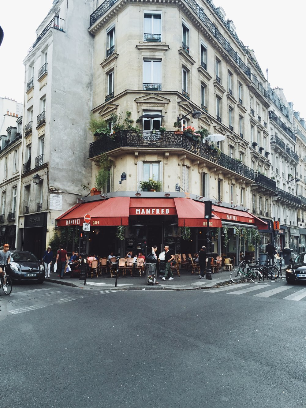 Paris - Café Manfred