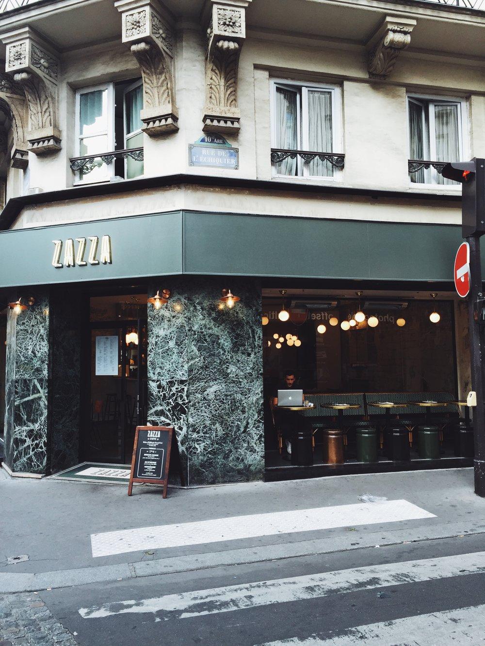 Café Zazza Paris