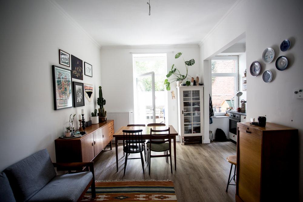 Zu Besuch bei AnnyWho in Hannover. Home- und Studiotour auf Herzundblut.com.