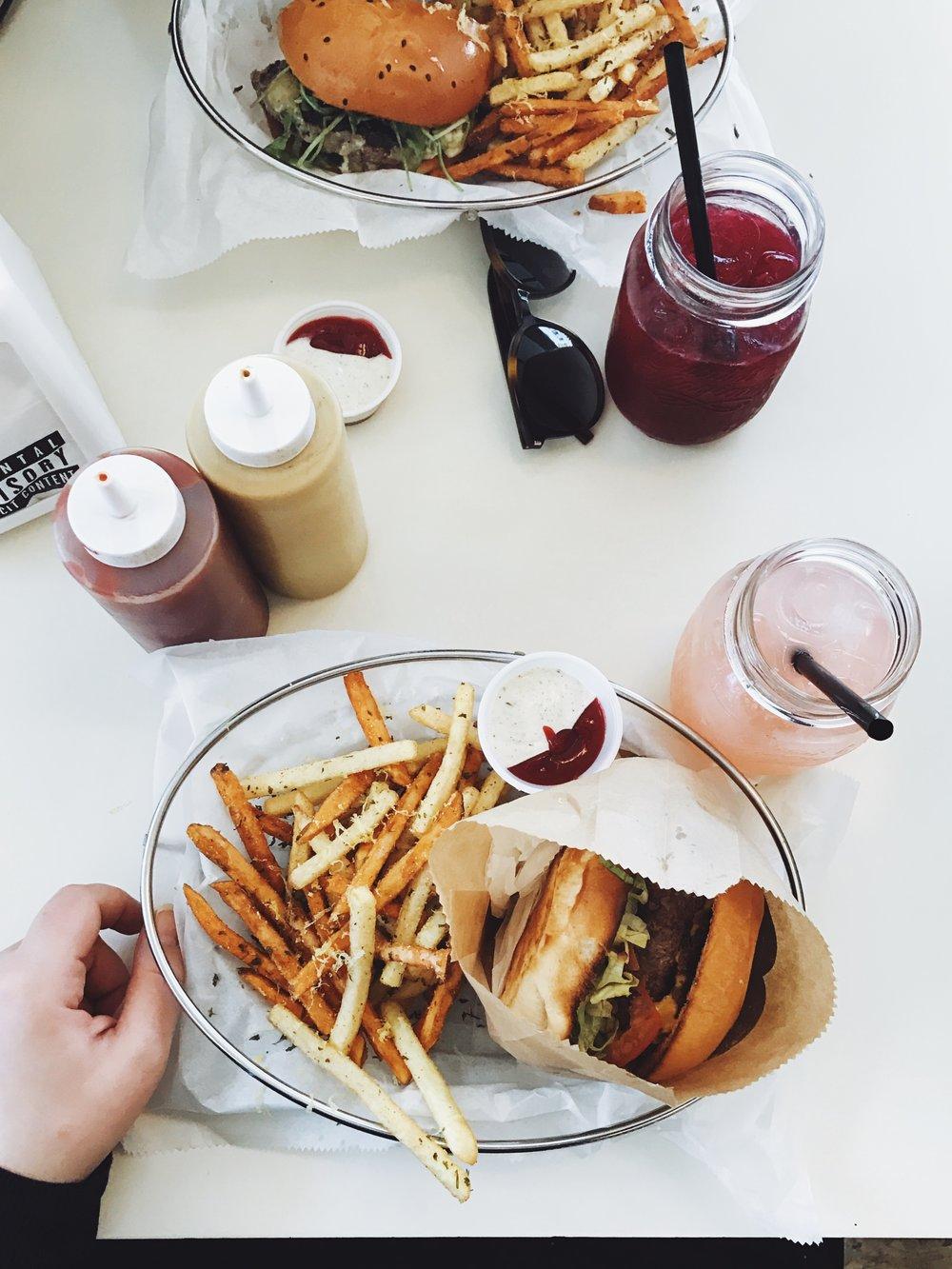 Tel Aviv- Burger in Tel Aviv