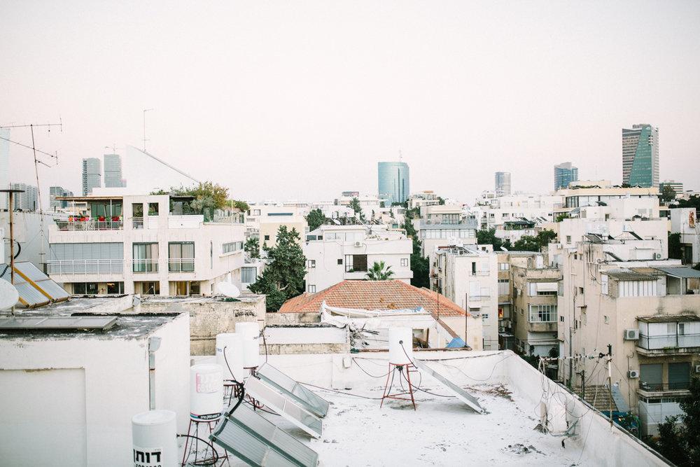 Blick vom Hoteldach <3