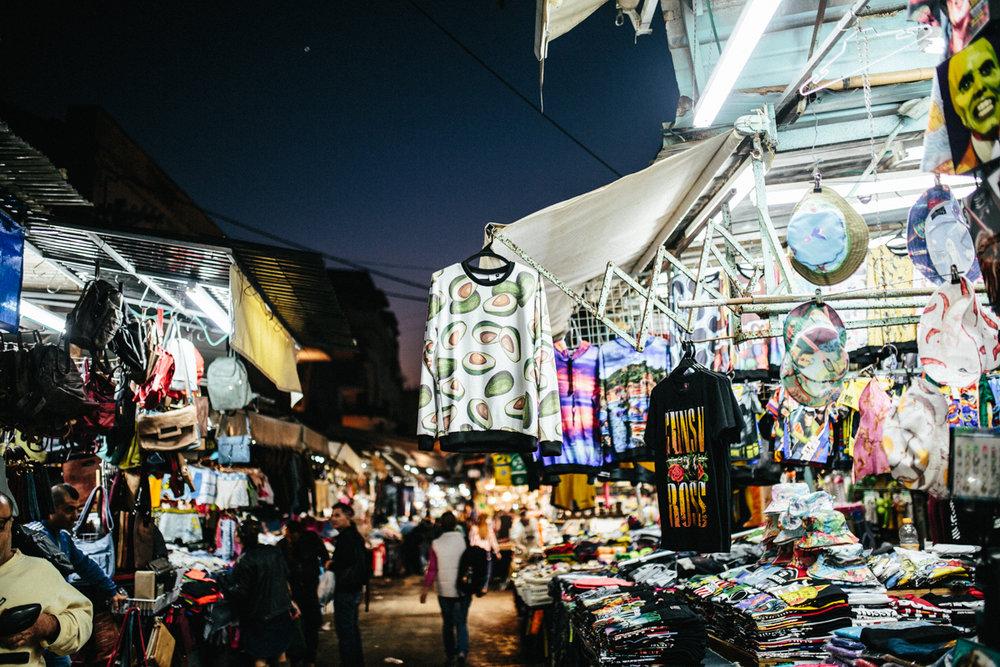 Markt in Tel Aviv
