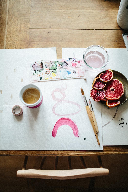 Stencil-Art mit Tchibo