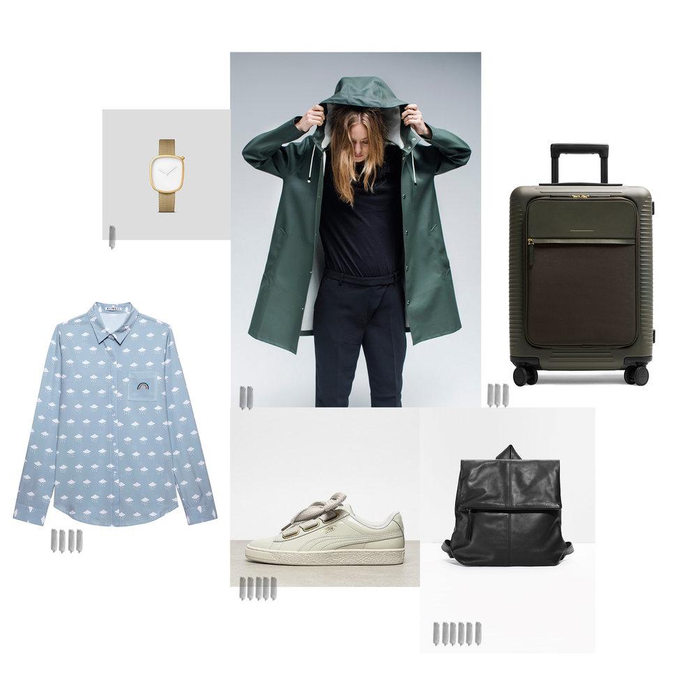 Ich packe meinen Koffer für Malmö