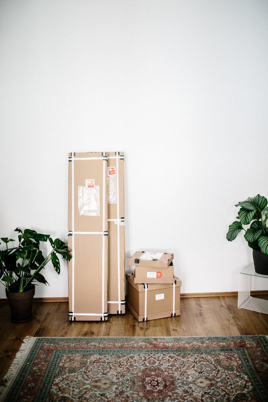 Tylko Kartons- Aufbau Start.