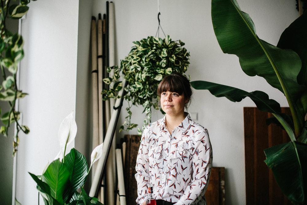 Talk unter Palmen ... mit Katharina Flick