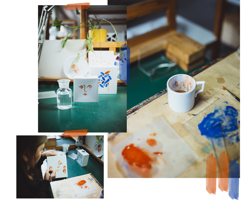 Eine Vase 3 Decore- Zubesuch bei KPM