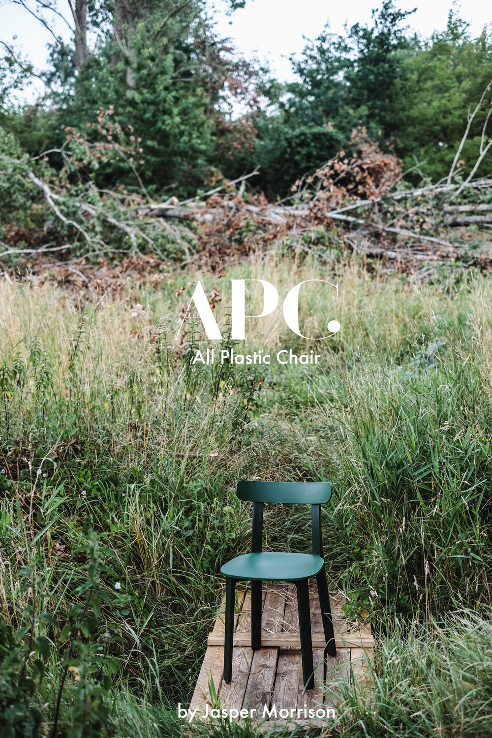 Setz Dich! - All Plastic Chair
