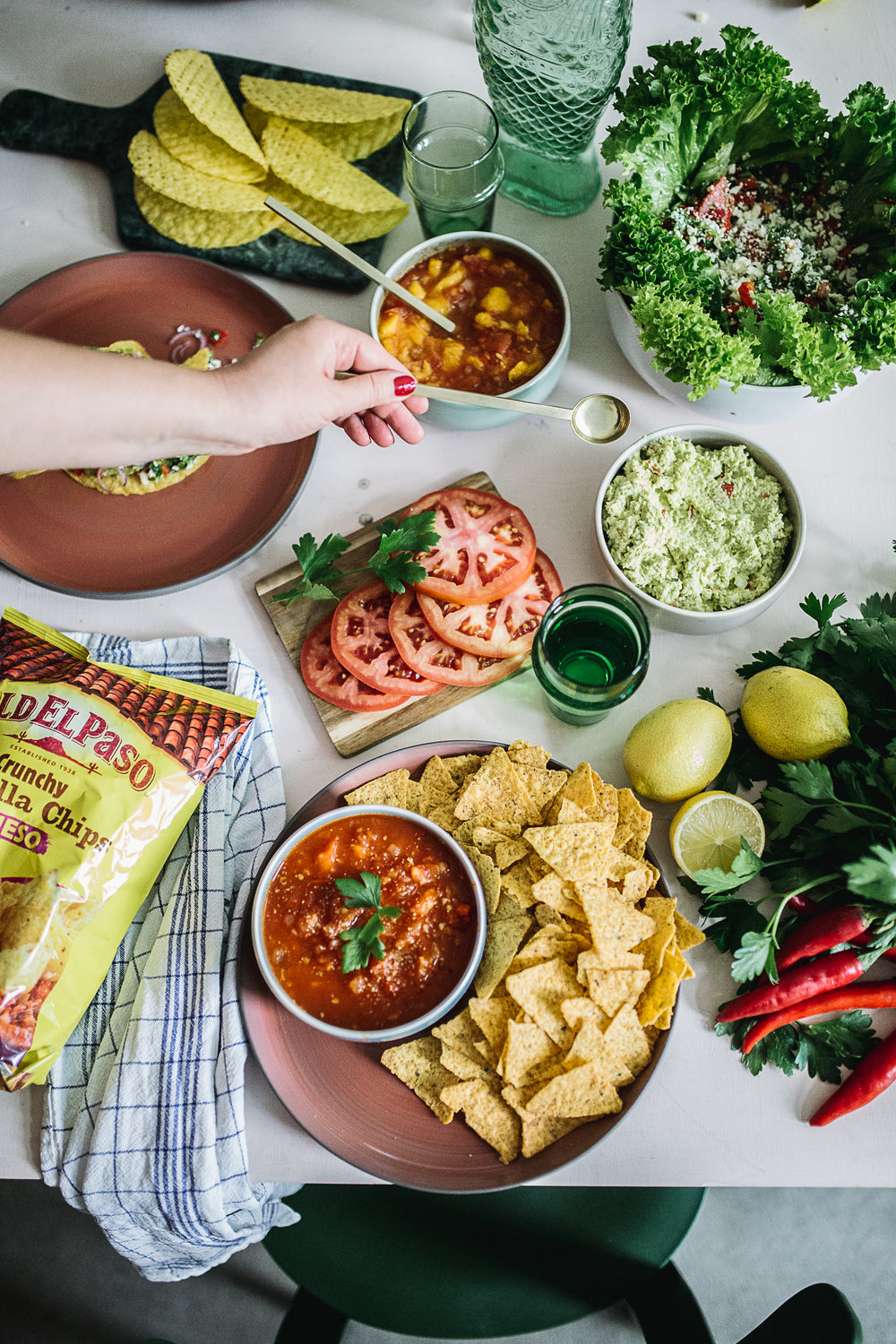 ¡Ándale! #mexicandinner mit Old El Paso