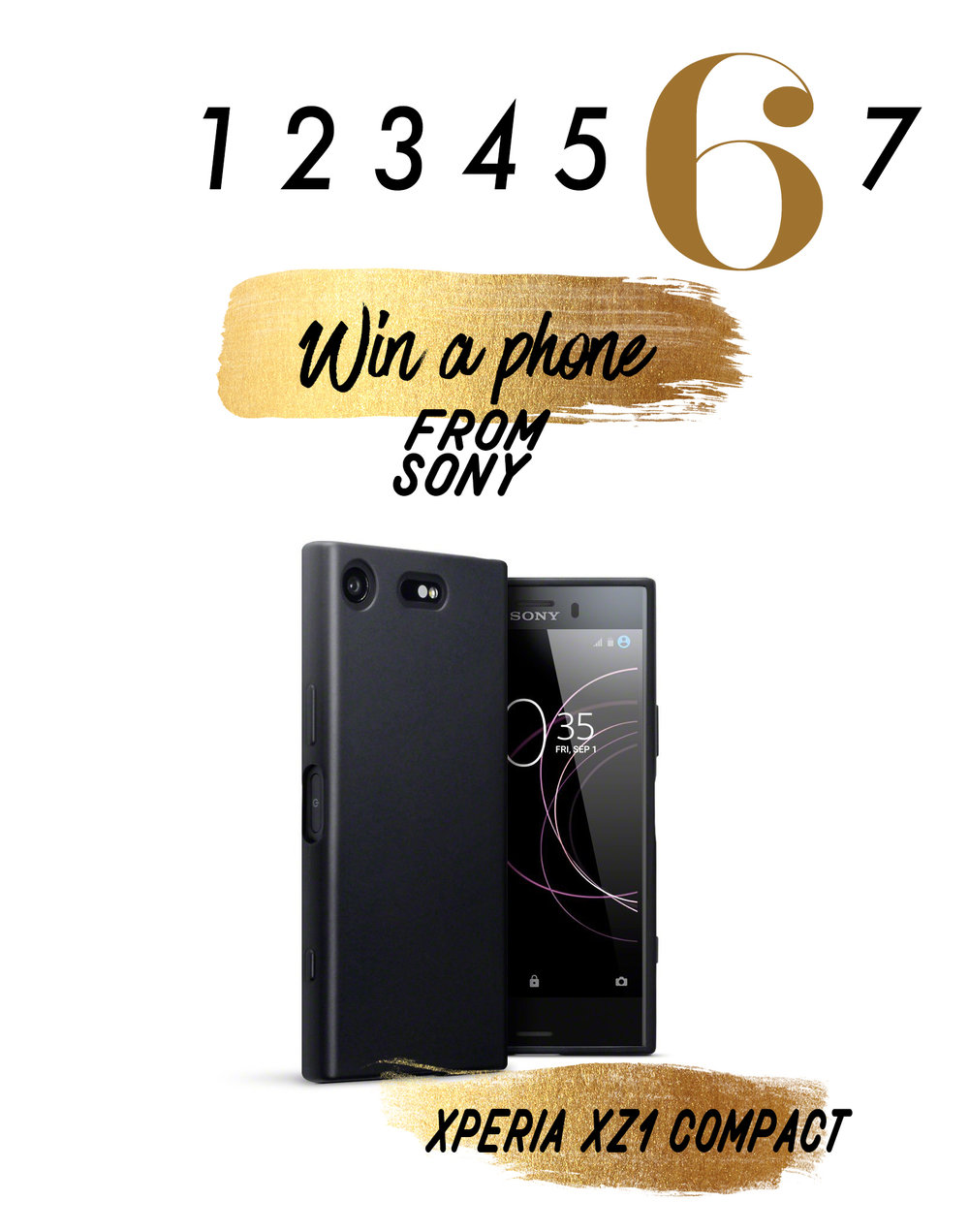 Türchen 6- Das Sony Xperia XZ1 Compact