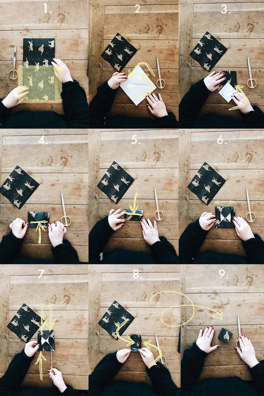 Boxen aus Papier Falten. DIY auf herzundblut.com