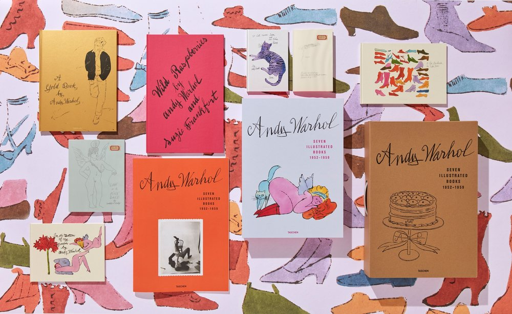 Book-Must-Have: Andy Warhol. Seven Illustrated Books 1952–1959