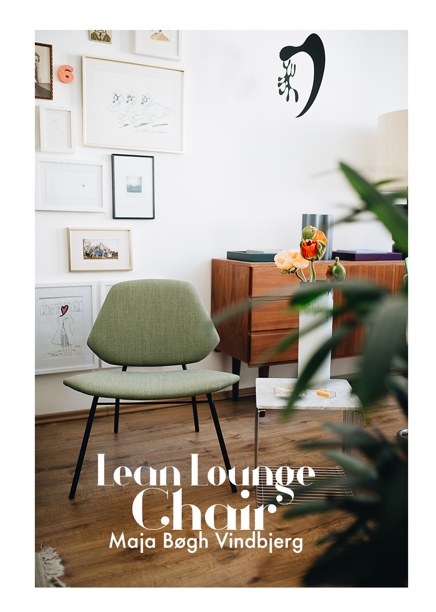 Setz dich- Lean lounge chair