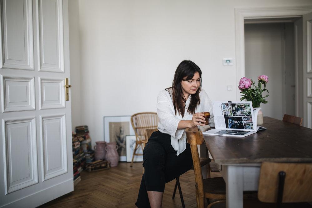 Auf eine Tasse Tee mit Valeria Popov
