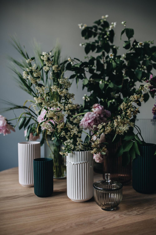 Blumenliebe mit LYNGBY PORCELÆN