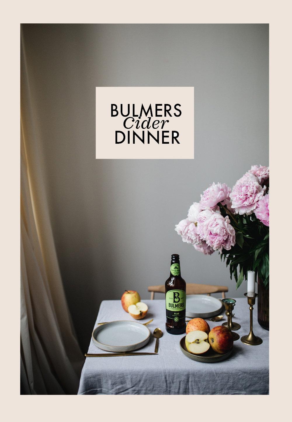 Bulmers Cider Dinner @Maison Palmė — Herz und Blut - Interior ...