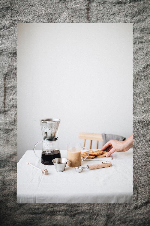 Coffeemaker  / Kaffeelöffel /  Glas /  Messbecher /  Honiglöffel