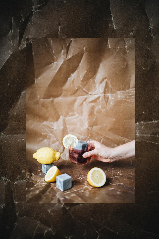 Glas  /  Eiswürfel
