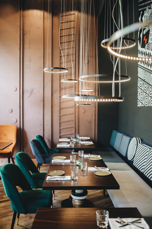 Zu Tisch im Blend Kitchen & Bar Berlin