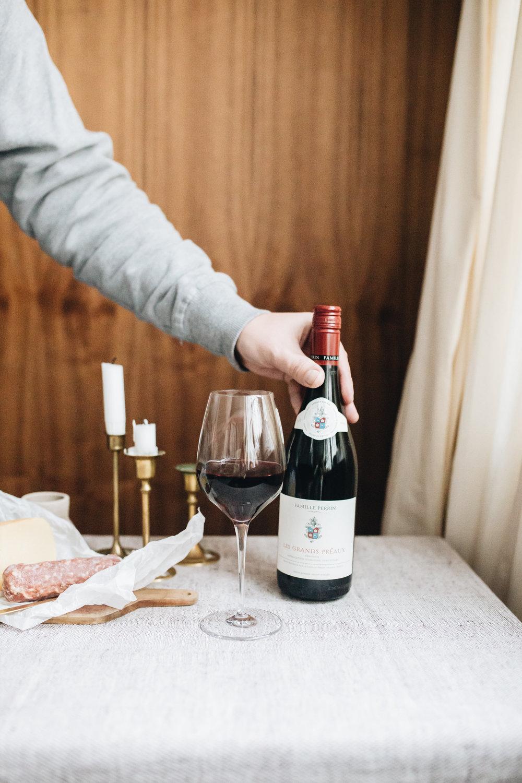 Friday-Drink mit Weinfreunde: Les Grands Préaux Ventoux 2017