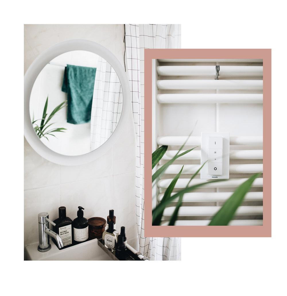 Smart-Home: Die Philips Hue Adore Spiegelleuchte