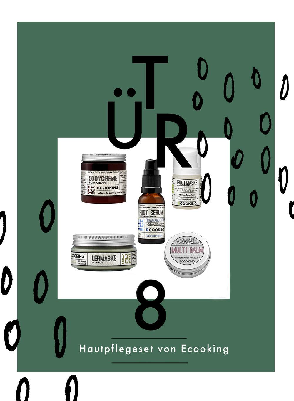 Tür 8: Hautpflegeset von Ecooking