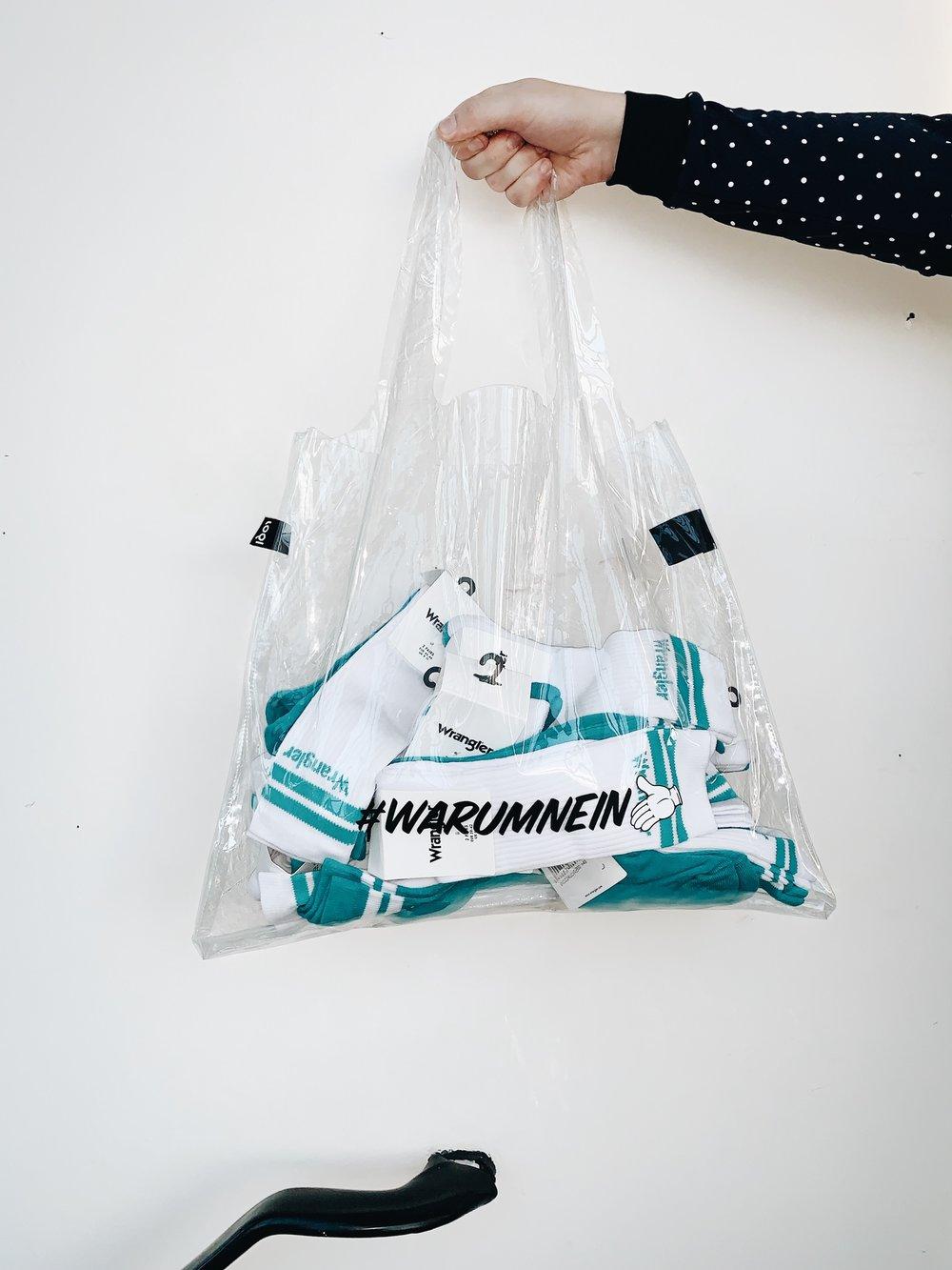 LOQI x Herz&Blut: #WARUMNEIN Special Edit Bag